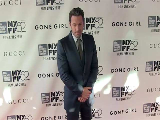 Ben Affleck, Rosamund Pike And Gillian Flynn At The 'Gone Girl' World Premiere In New York - Part 2
