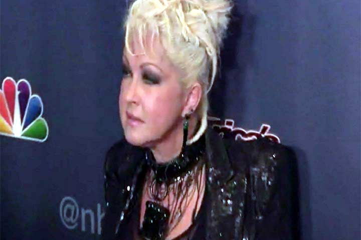 Cyndi Lauper And Travis Barker Join 'America's Got Talent' Judges At Finale Event - Part 1