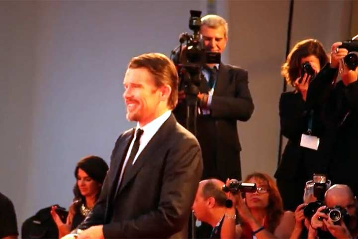 Ethan Hawke And January Jones Among Arrivals At VIFF 'Good Kill' Premiere
