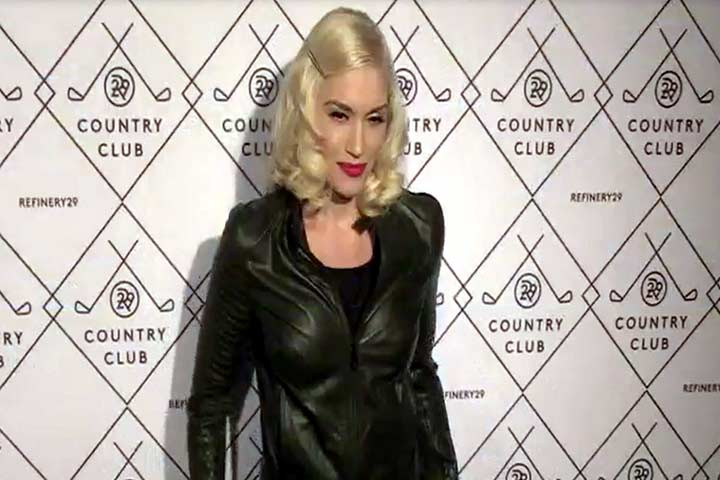 Gwen Stefani Turns Heads Once Again At Refinery29 Country Club Launch