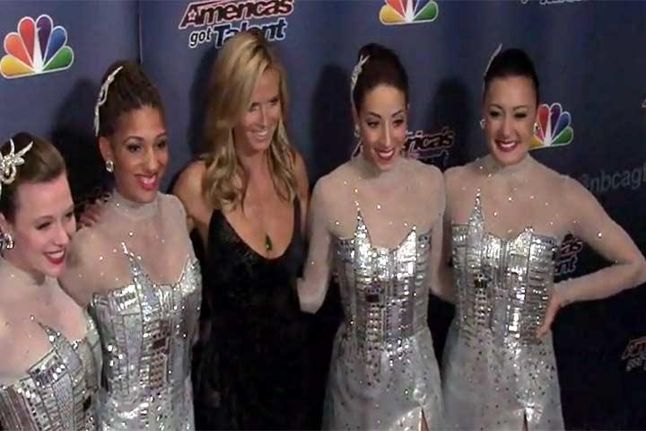 Heidi Klum High Fives 'America's Got Talent' Winner Mat Franco At Finale Event - Part 2