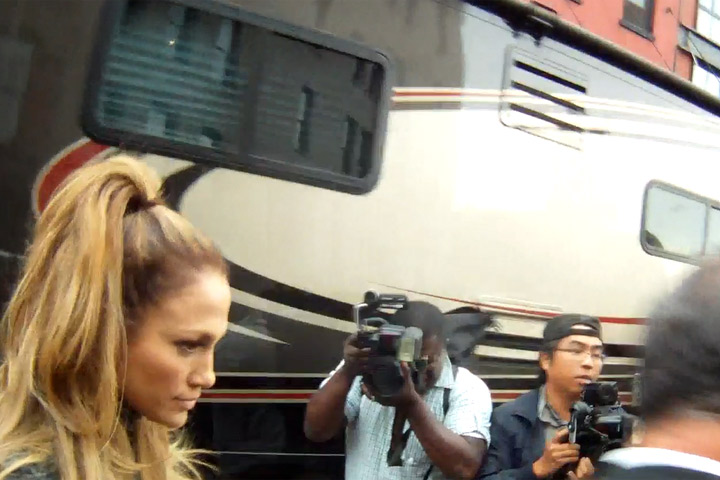 Jennifer Lopez Leaves The New York Set Of Her New Music Video - Part 2