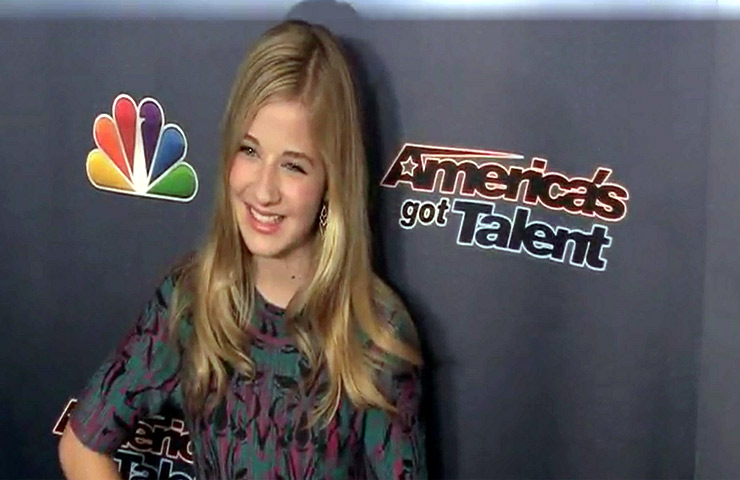Judges And Stars On The Red Carpet During 'America's Got Talent' Ninth Season Event