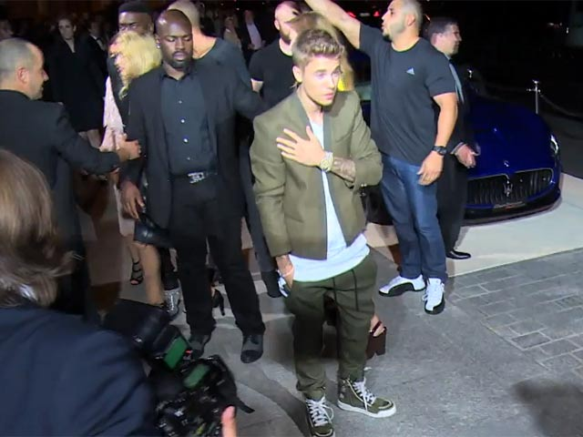 Justin Bieber Causes A Stir With His Arrival At The CR Fashion Book Issue 5 Launch Party In Paris - Part 4