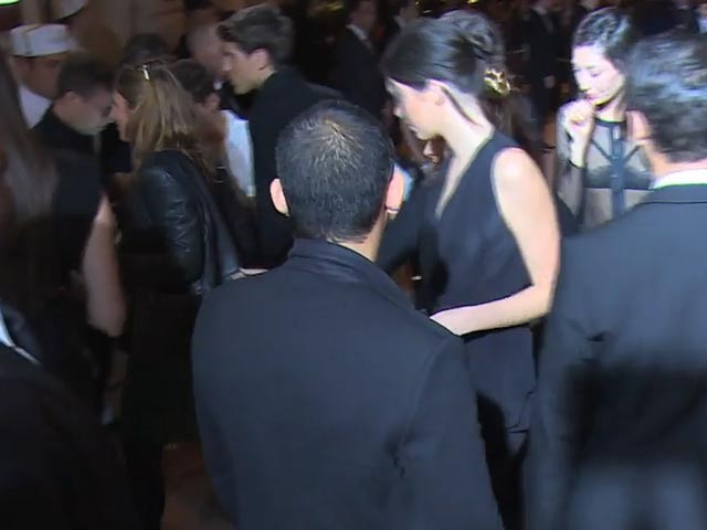 Kendall Looks Elegant In A Black Jumpsuit At CR Fashion Book Issue 5 Launch Party In Paris - Part 1