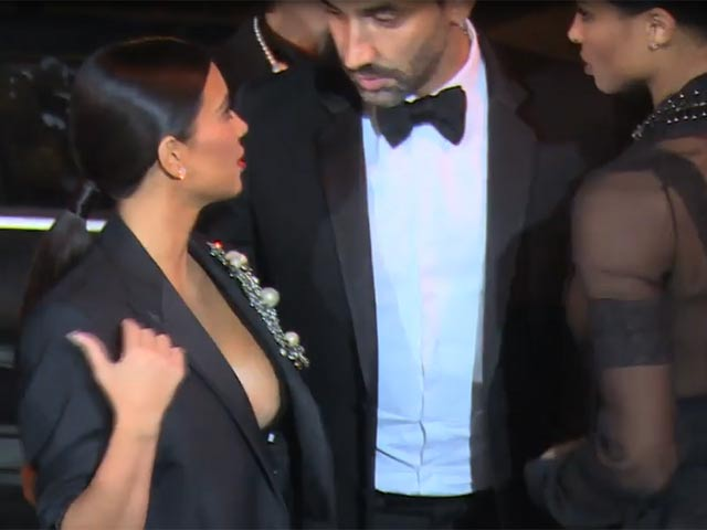 Kim Kardashian Hits CR Fashion Book Issue 5 Launch Party In Paris With New BFF Ciara - Part 3