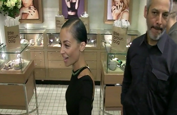 Nicole Richie Looks Ultra Elegant At House Of Harlow 1960 Signing At Bloomingdale's