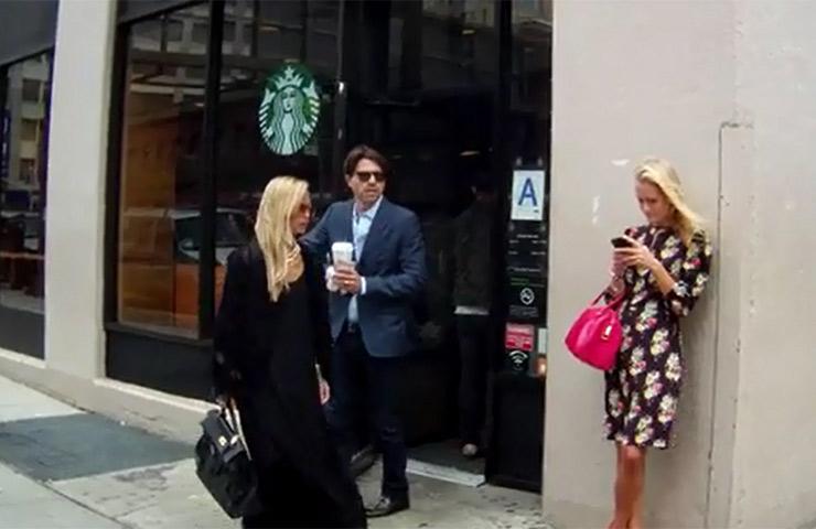 Rachel Zoe Grabs Coffee With Her Hubby At Starbucks