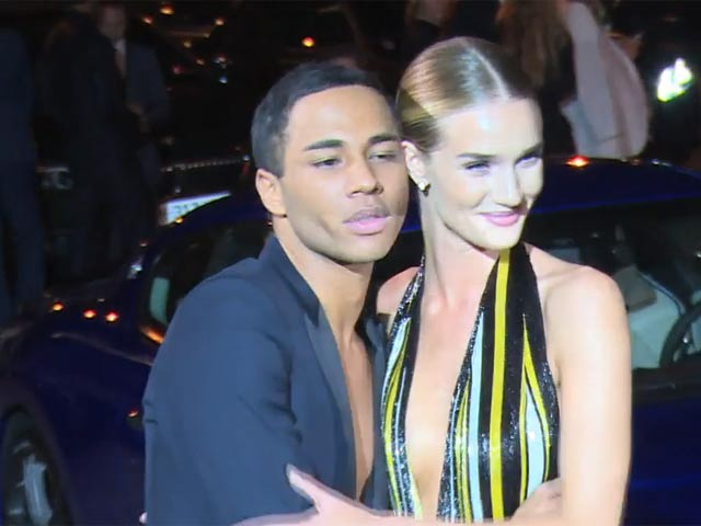 Rosie Huntington Whiteley Was Among The Glamorous Guests Of CR Fashion Book Issue 5 Launch Party In Paris - Part 5