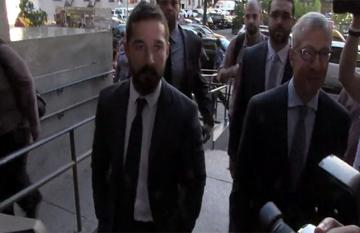Shia LaBeouf's Lawyer Gives A Statement Following His Latest Hearing