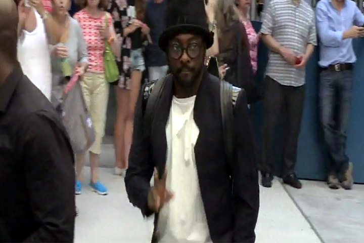 will.i.am seen at The Second Annual Fashion Media Awards in New York City - Part 2