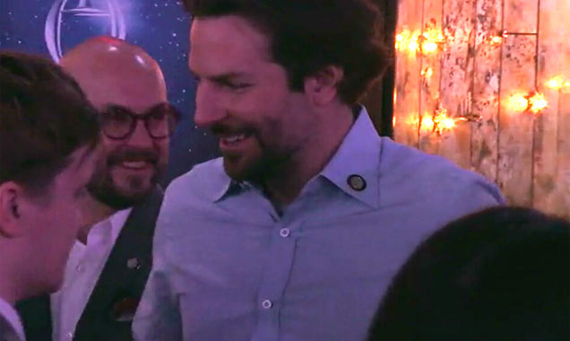 'The Elephant Man' Star Bradley Cooper At 2015 Tony Nominees Reception - Part 1