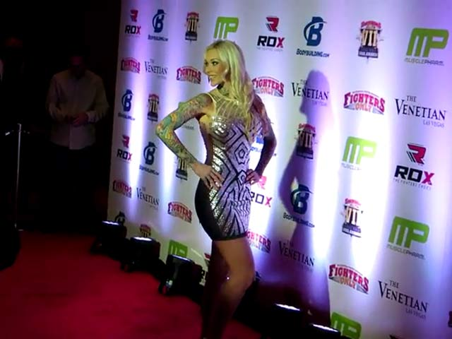 Sabina Kelley Poses Ahead Of The 7th MMA Awards In Las Vegas - Part 2