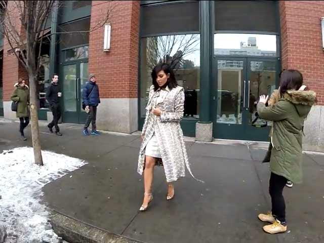 Kim Kardashian Seen Entering A Car In New York - Part 2