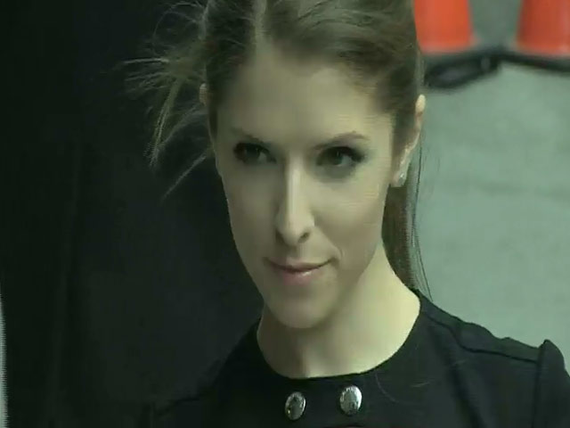 Anna Kendrick Is Picture Perfect As She Arrives Outside 'Letterman'