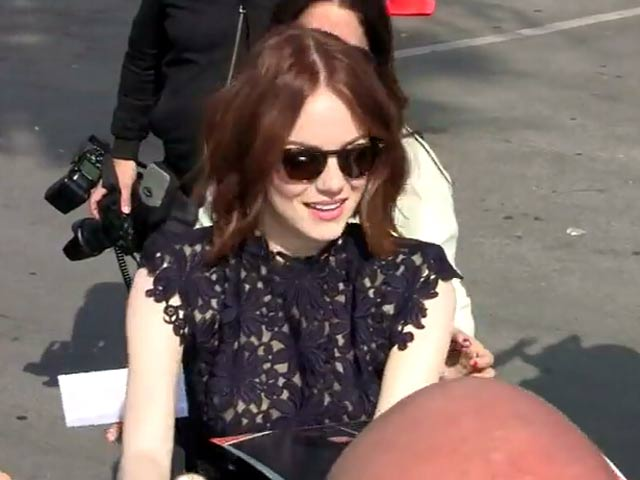 Emma Stone Poses In Santa Monica's 30th Annual Independent Spirit Awards - Part 5