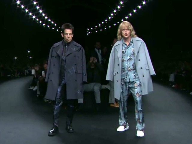 Ben Stiller And Owen Wilson Steal The Runway At Paris Fashion Week For 'Zoolander 2'