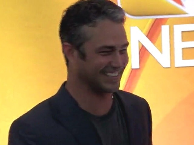Taylor Kinney And Mariska Hargitay Hit The Red Carpet At The NBC Upfront Presentation 2015 - Part 1
