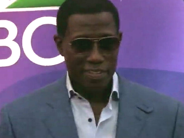 Wesley Snipes Makes Appeance At 2015 NBC Upfront Ahead Of 'The Player' Series - Part 4
