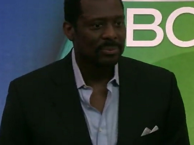 'Chicago Fire' Stars Eamonn Walker And Taylor Kinney Hit The 2015 NBC Upfront - Part 5